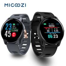 S08 Smart Watch IP68 Waterproof Dial Face Change Wristband Blood Pressure Heart Rate Monitor Women Men Sport