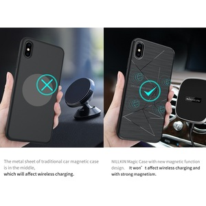 Image 2 - NILLKIN Magnetic Qi Wireless Charger Charging Receiver case for iPhone XS Max Case Cover 6.5 for iPhone XR Case 6.1