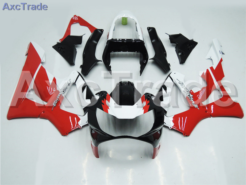 Motorcycle Fairings For Honda CBR 929 900 RR 929RR 00 01 900 2000 2001 CBR900RR ABS Plastic Fairing Kit Bodywork Red Black A169
