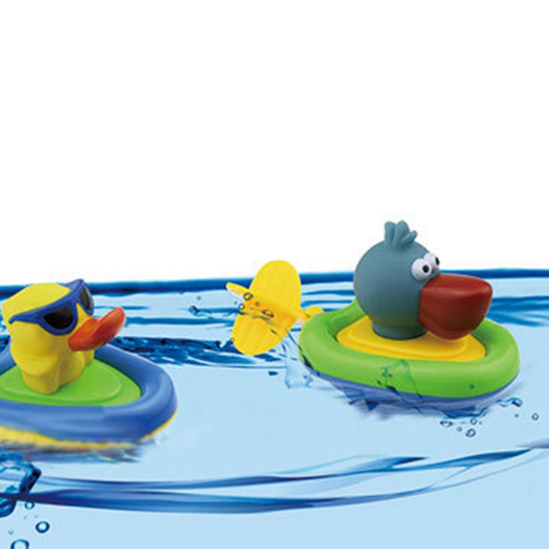2018 Creative Cute animal pull toys children bathing baby bathing water toys for bathing