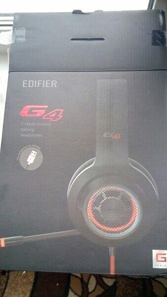 Игровая гарнитура Edifier G4. [Официальная гарантия 1 год, Доставка от 2 дней]
