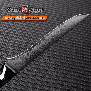 Image 5 - Cuchillo de deshuesar Damasco vg10 de 5,5 pulgadas, cuchillo carnicero de acero damasco japonés, cuchillos de cocina para Chef, utensilios de cocina para cortar y filetear
