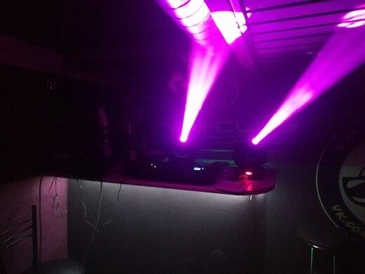 Efeito de Iluminação de palco Rápido Rápido Emissor