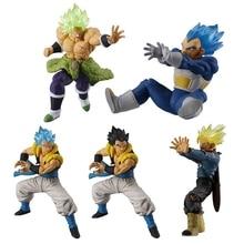 Dragon ball Super VS Battle figure Gashapon Goku Broly Gogeta Vegeta Trunks PVC Model Figurals Dolls toys