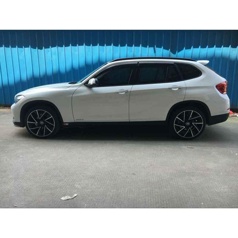 สำหรับ BMW X1 2011 2012 2013 2014 2015 ABS พลาสติก Unpainted Primer สีด้านหลัง Trunk สปอยเลอร์ตกแต่งรถอุปกรณ์เสริม