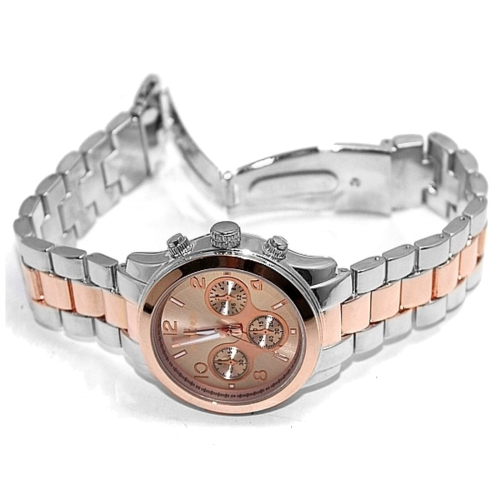 ALEXIS Män Analog Quartz Runda Armbandsur Japan PC21J Rörelse Rose - Damklockor - Foto 5