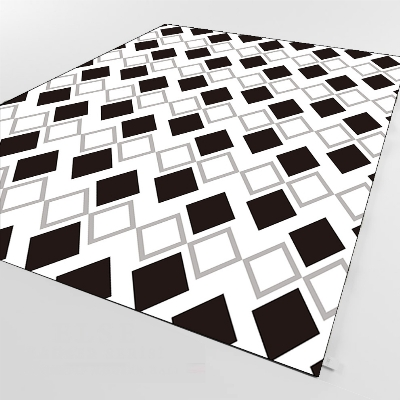 Else Black Gray White Tiles Geometric Scandinav 3d Print Non Slip Microfiber Living Room Decorative Modern Washable Area Rug Mat