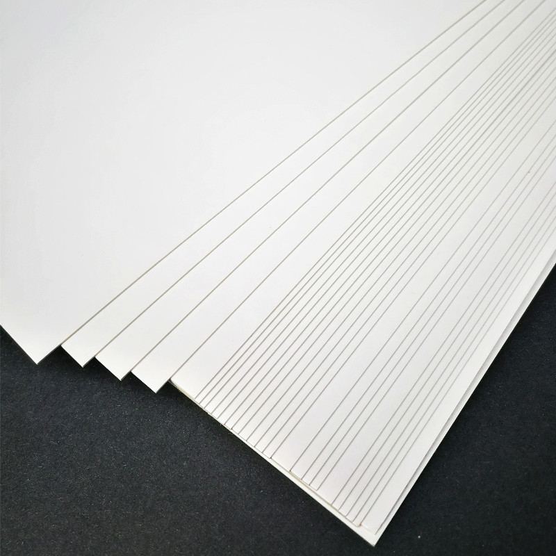 50pcs/lot A3 A4 A5 White Kraft Paper DIY Card Making 120g 180g 230g 300g 400g Craft Paper Thick Paperboard Cardboard(China)