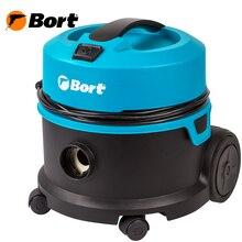 Пылесос для сухой уборки Bort BSS-1010HD (мощность 1000 Вт, низкий уровень шума, Патронный HEPA фильтр + многоразовый мешок, провод 12 м, шланг 2,5 м)
