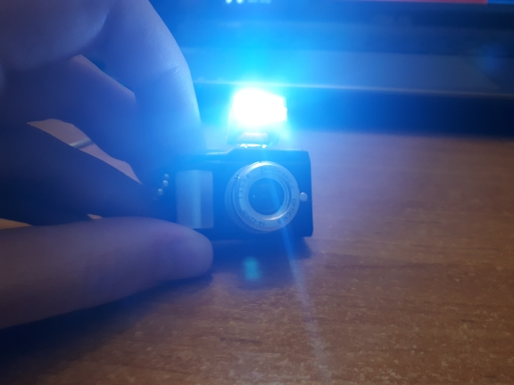 светильник фото; карта звук; Материал:: металл + АБС-пластик;
