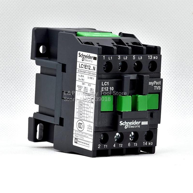 Schneider  LC1E1210M5N A.C Contactor AC220V