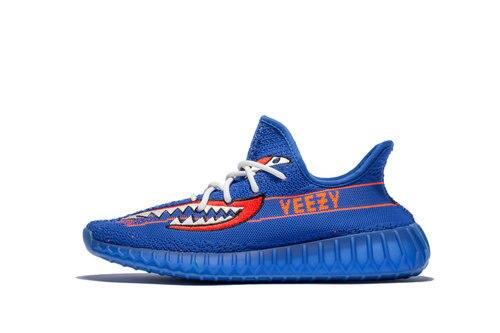 Yeezy Boost 350 V2 Customs Blue Shark