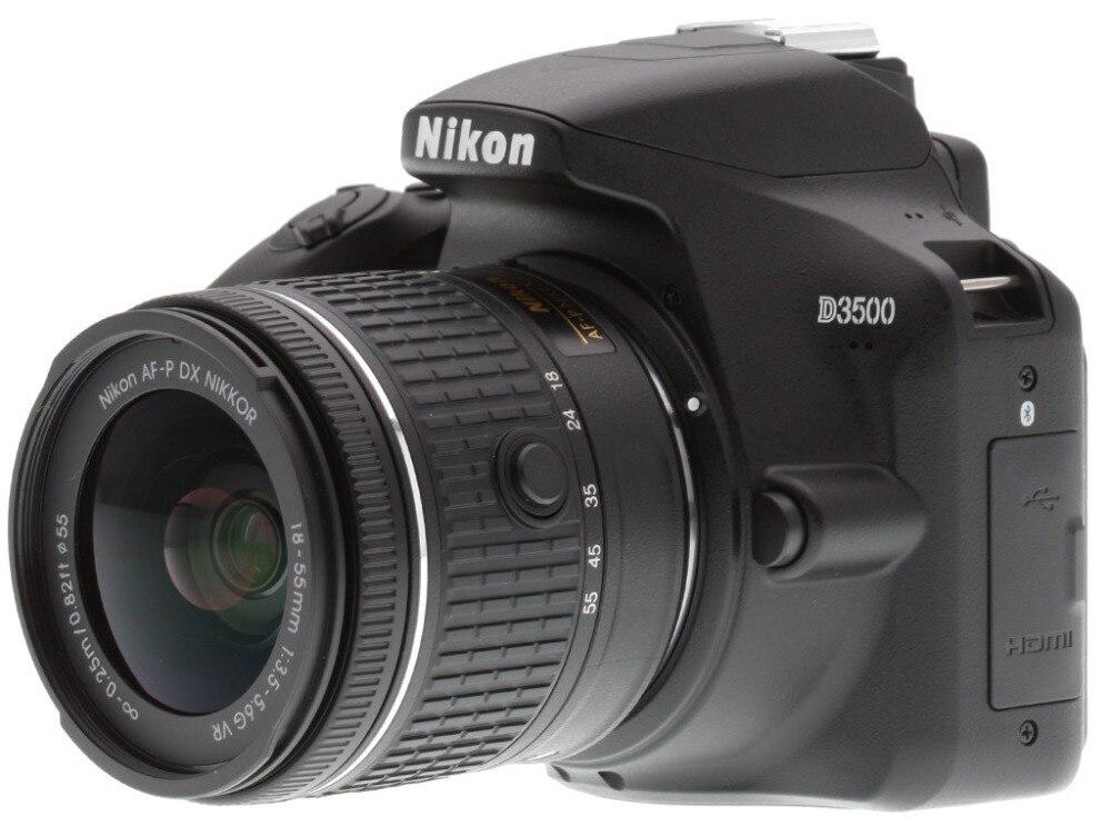 Корпус камеры Nikon D3500 DSLR и комплект объективов 18 55 мм