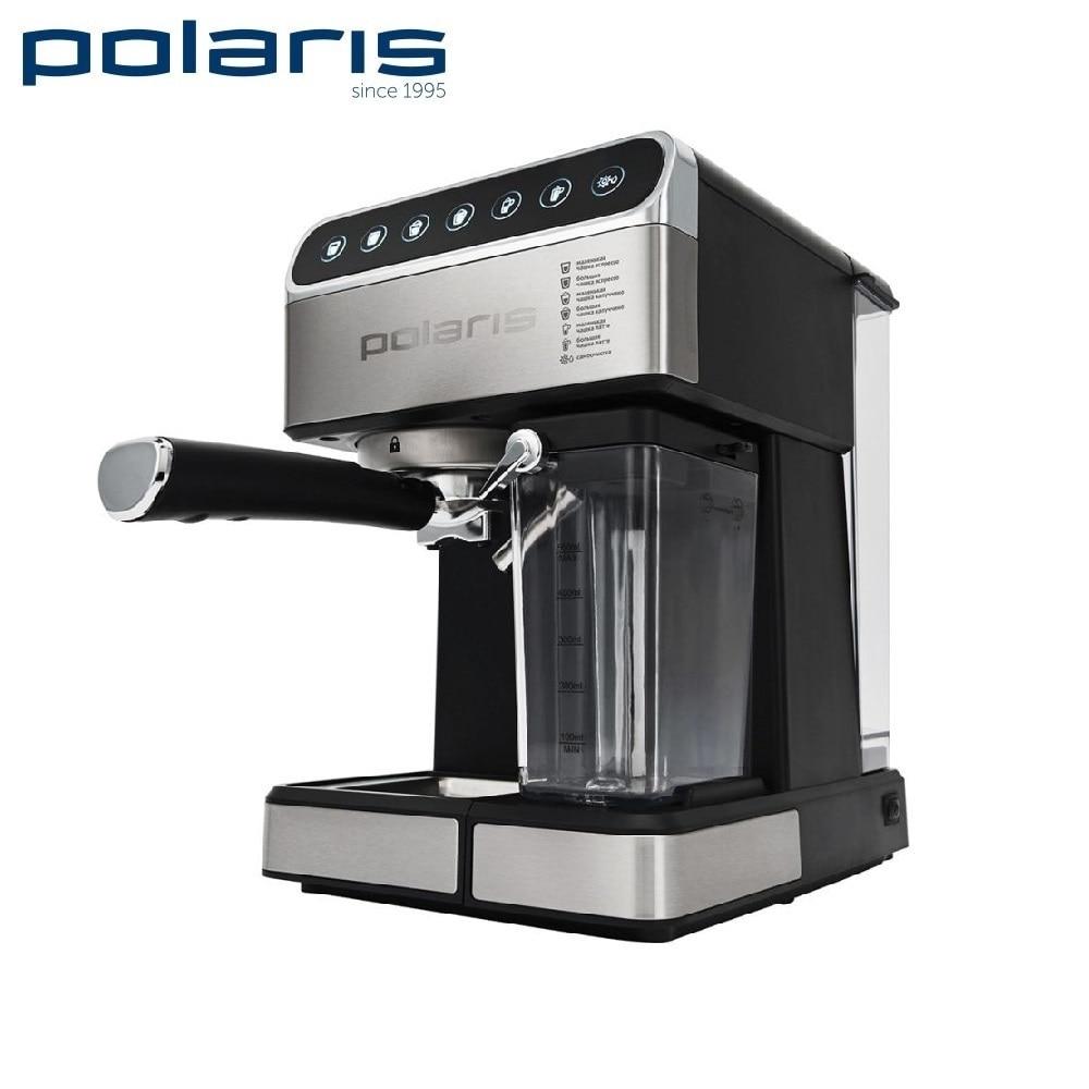 Coffee Maker Polaris PCM 1535E kitchen automatic pump Coffee machine espresso Coffee Machines Coffee maker Electric cukyi 0 7l high quality moka coffee maker coffee pot stainless steel moka electric coffee machine automatic machine