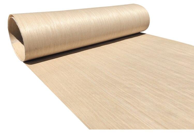 Technical Wood Veneer Furniture Decorative Veneer Engineering Veneer E.V.  62cm X 2.5m 0.2mm White Oak C/C Q/C