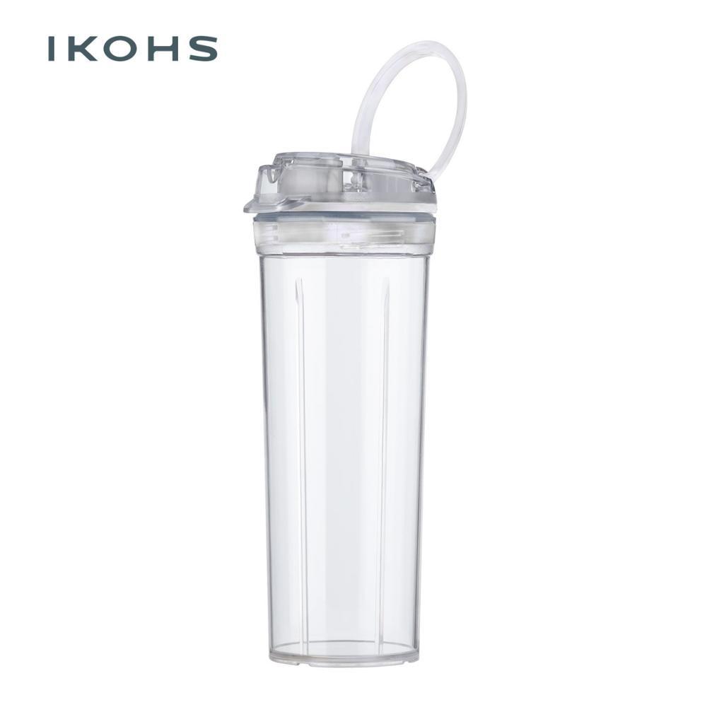 IKOHS Glass Clear Blender MOI/ABDA/BEIZ 400ml 19.5cm Complement Home Appliance Glass Blender Clear take away