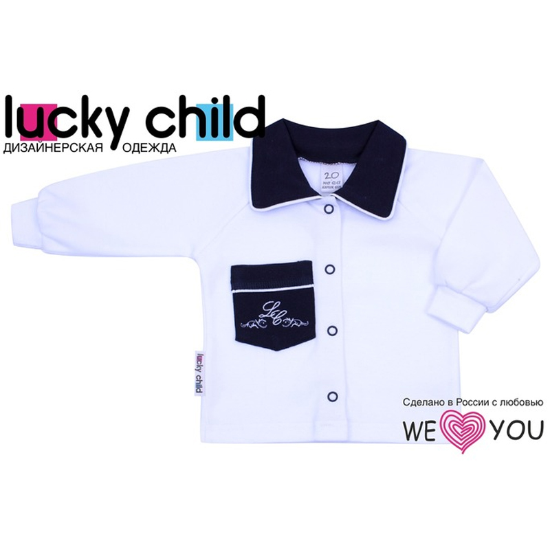 Sweatshirt Lucky Child striped panel sweatshirt