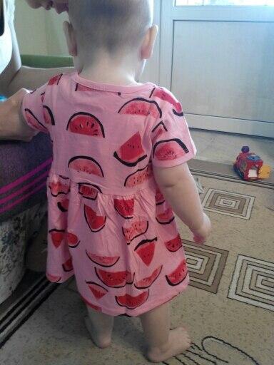 Girls Summer Dress Baby Clothing 2017 Brand Kids Moana Dresses for Girl Clothes Animal Print Robe Enfant Children Dress Princess