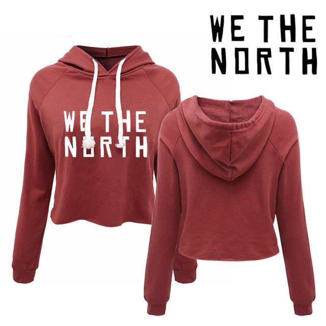 f2fa647dd51 We the North Toronto Women s canada pullovers . 80s 90s 00s girls fashion  sexy cropped hoodies