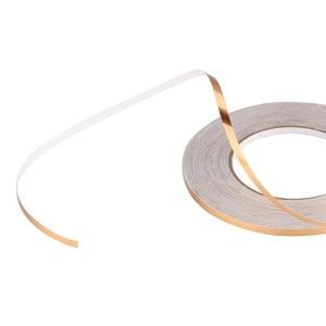 NICEYARD домашний Декор 50x0,05 м зазор уплотнительная фольга лента Водонепроницаемая Золотая Серебряная DIY медная фольга полоса стикер на стену пол шов стикер