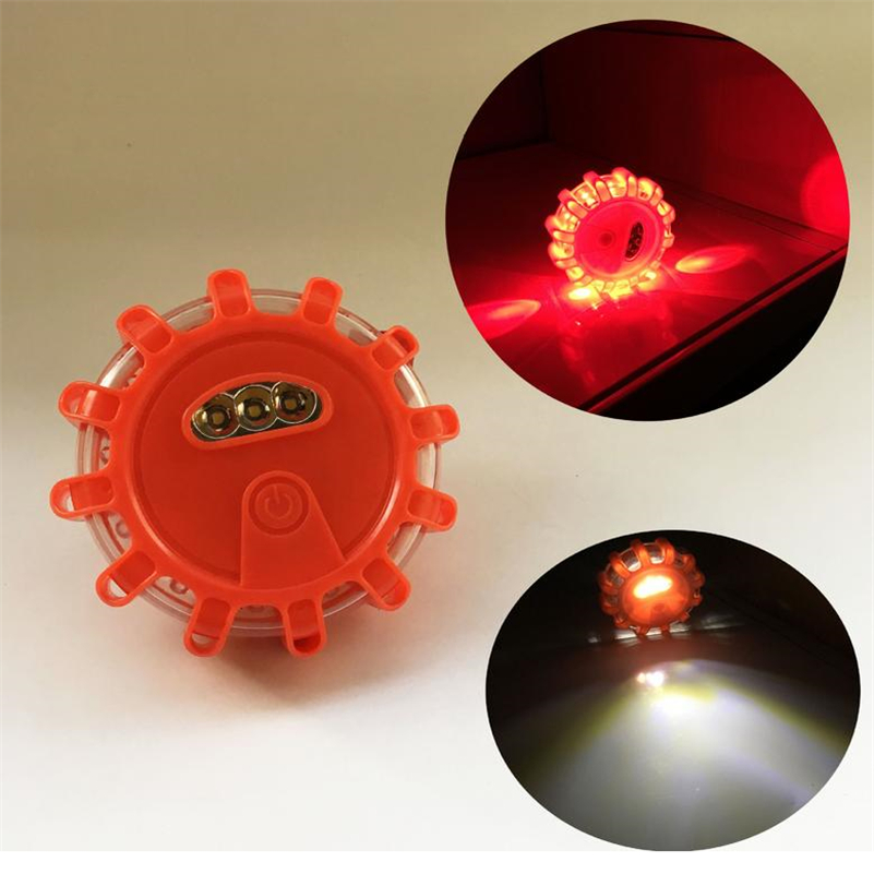 LED Multi-function Warning Light Road Rescue Light Illumination Emergency Disk Road Safety Light Flash Road Lighthouse Christmas multi road displacement signal digital display indicator mic 1bs4 multi road ssi ab phrase