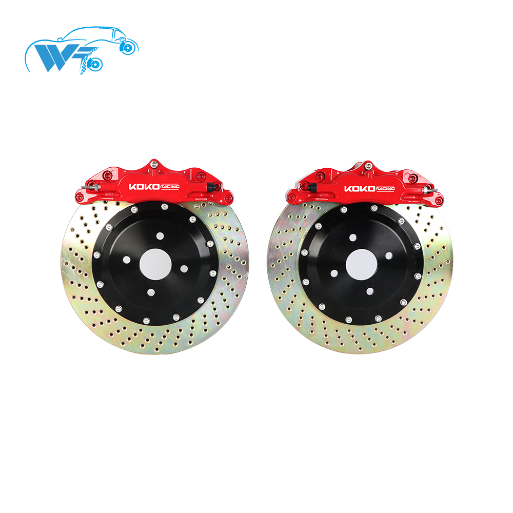 koko racing car wheel modified big brake system fit 330mm rotors for audi a3