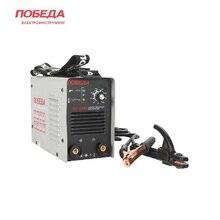 Welding machine Pobeda AC-250 Electrical inverter Welding unit Inverter welding set Arc-welding set Anti-sticking Hot start