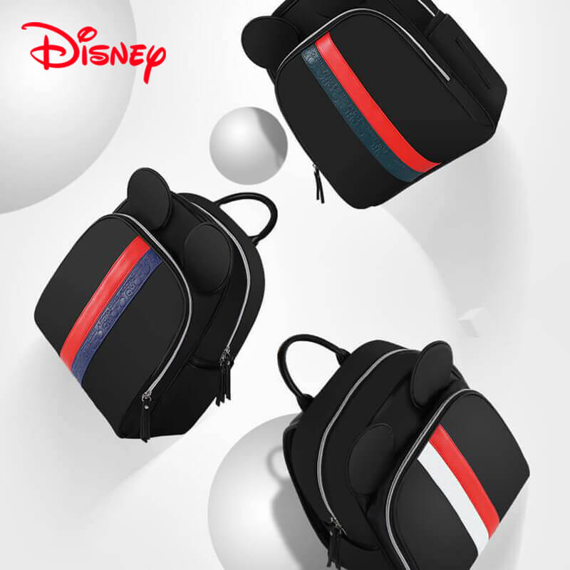 5c07497d484 Disney Mickey Gucci Inspired Striped Best Diaper Baby Bag Backpack Mummy  Maternity Care Large Capacity Nappy