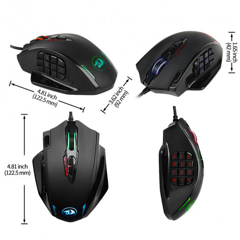 Redragon M908 IMPACT Gaming Mouse