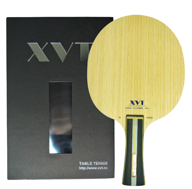 High End XVT ZL KOTO ZlC KARBON Masa Tenisi Bıçak/ping pong Blade/masa tenisi raketi Ücretsiz kargo