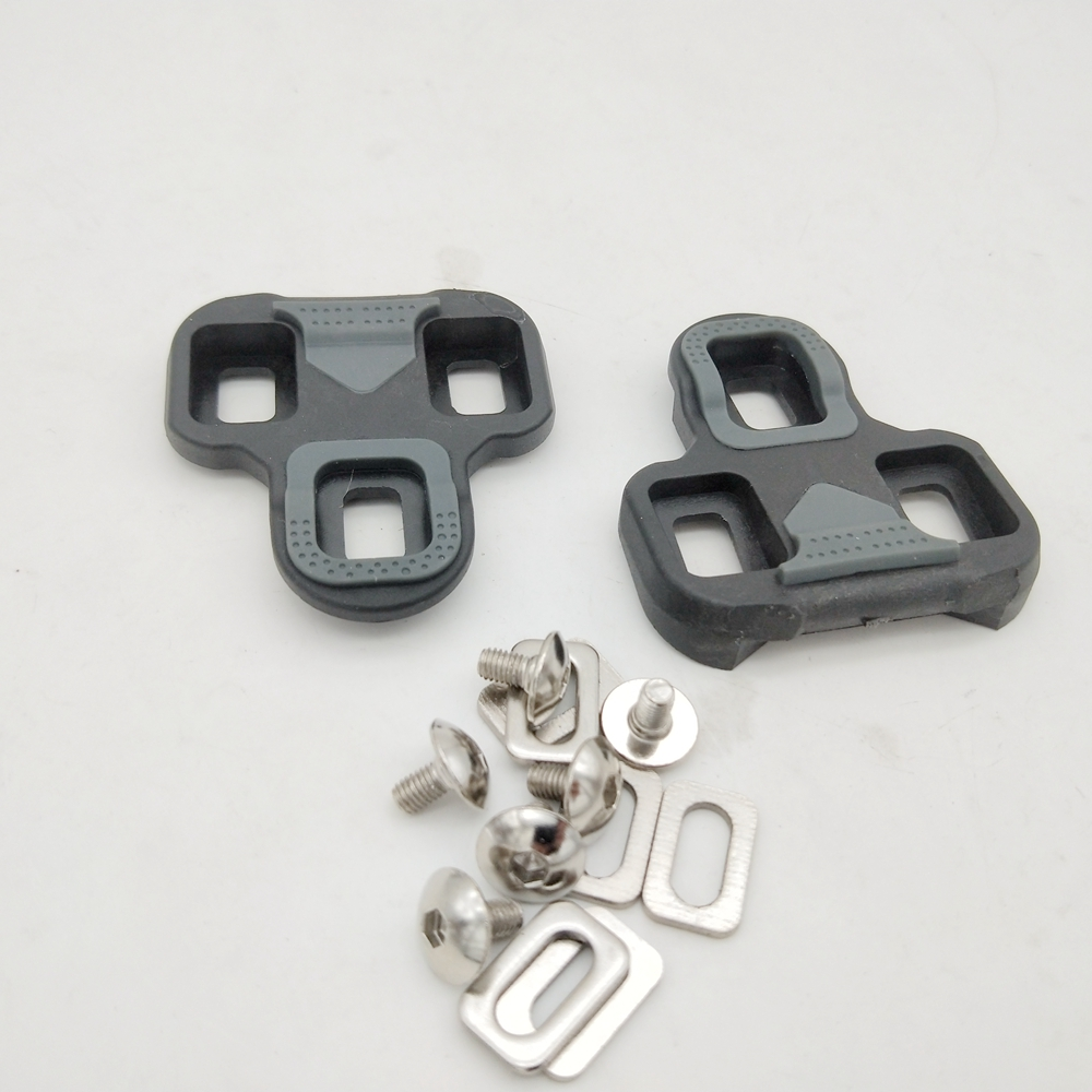 US SELLER New Wellgo RC-7A Road Pedal Cleat Look KEO compatible Float 6° Grey