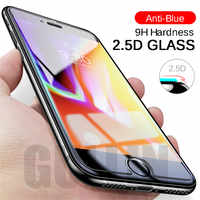 9H 2.5D Toughened Tempered Glass For iPhone 6 6s 7 8 plus HD Screen Protector Glass For iPhone X protective Film eye Protection