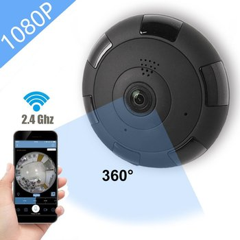 Kruiqi Home Security 1080P IP Camera Wifi 2MP Audio Record SD Card Memory P2P HD CCTV Surveillance Wireless Camera Baby Monitor 1080p 2mp wireless indoor wifi surveillance camera two way audio cctv security ip camera home dome baby monitor support sd card
