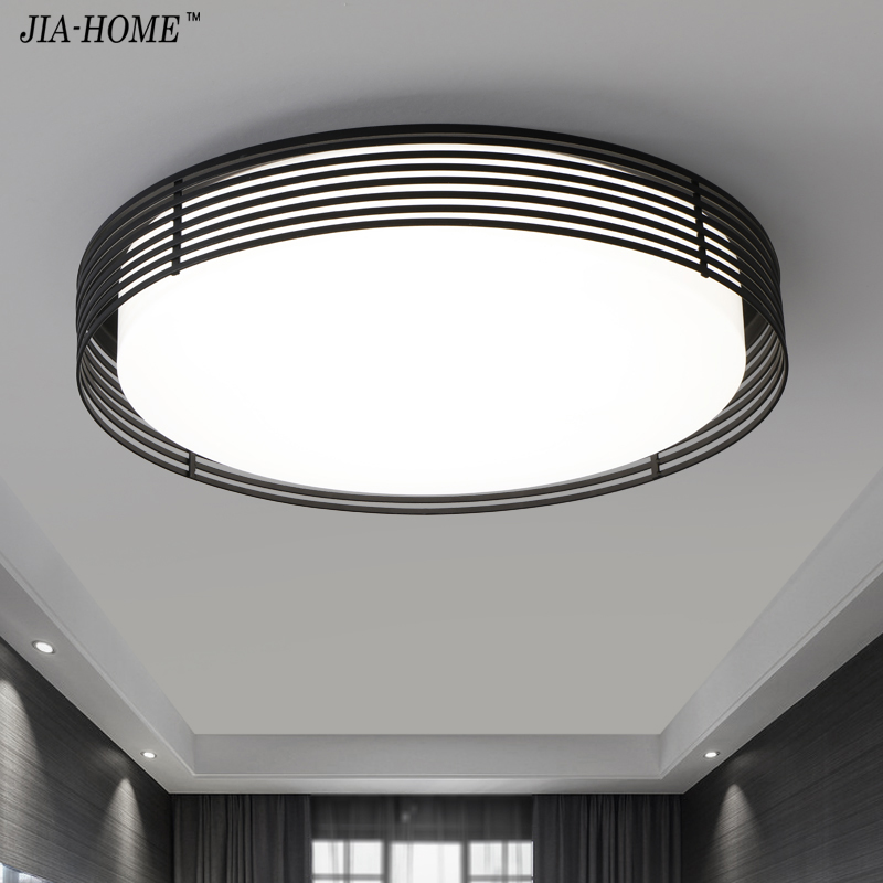 LED Dome flush mount ceiling lights modern for drawing room switch or remote brightness dimmer ceiling lamp AC100v-265v