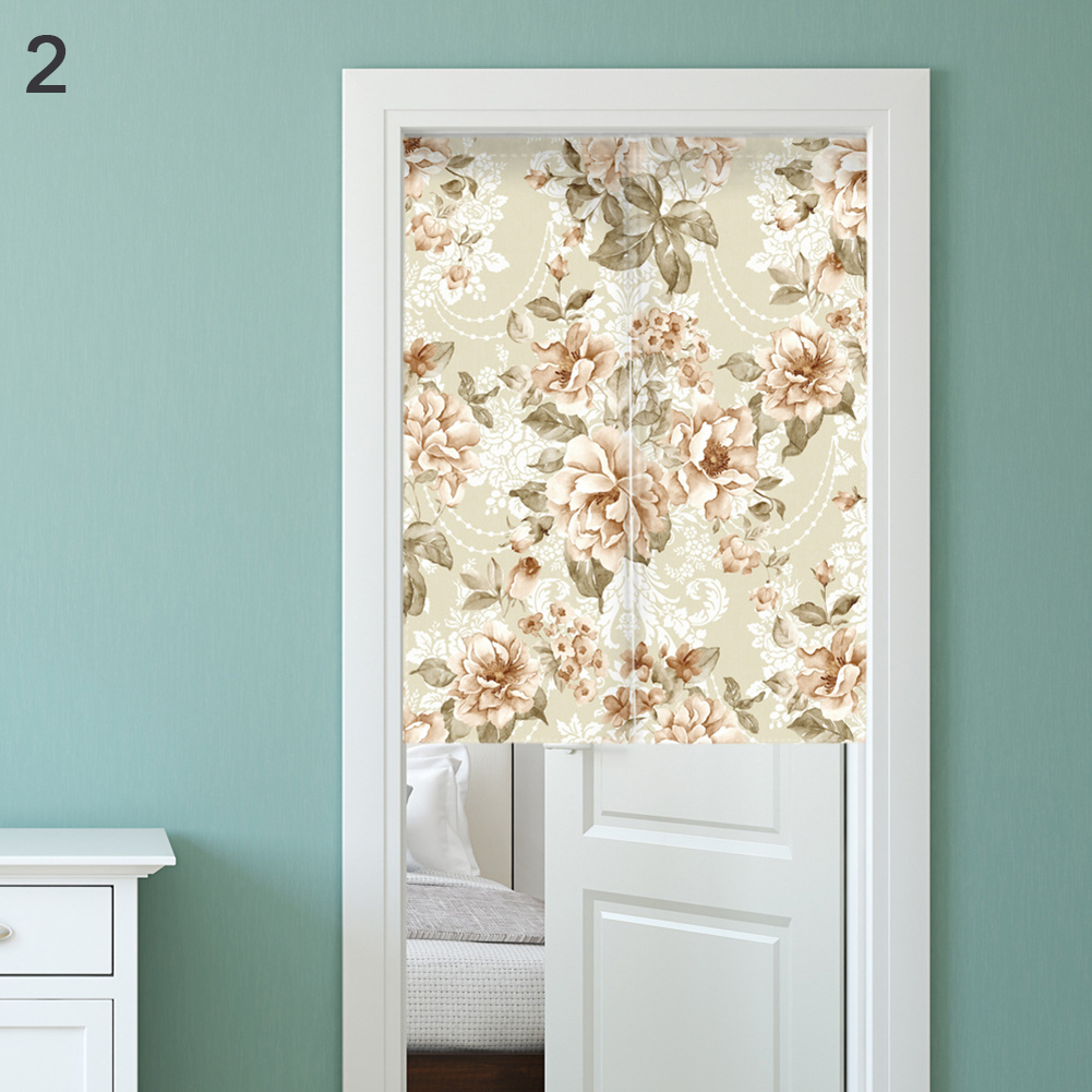 Noren Anese Style Room Divider Fl Print Doorway Curtain With Tension Rod In Curtains From Home Garden On Aliexpress Alibaba Group