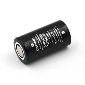 Image 3 - 1 Pcs Keeppower IMR 18350 IMR18350 1200mAh 10A UH1835P di scarico Li Ion ricaricabile batteria Ad Alta Scarico Originale