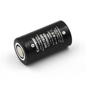 Image 3 - 1 Pcs Keeppower IMR 18350 IMR18350 1200mAh 10A discharge UH1835P Li ion rechargeable battery High Drain Original