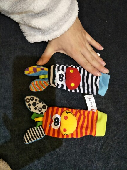 Baby Rattle Socks photo review