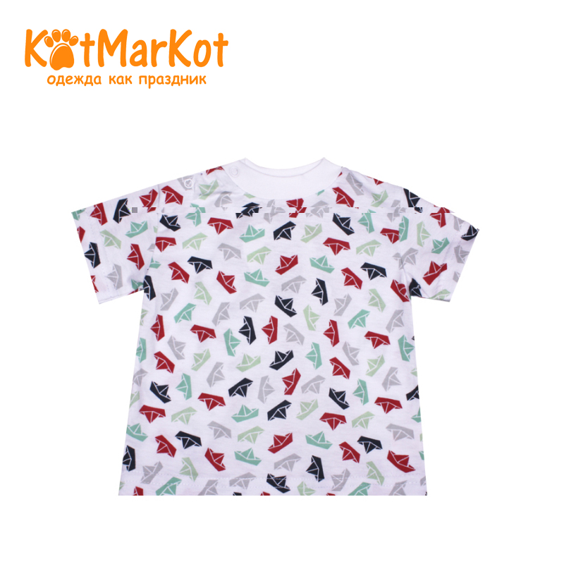 T-shirt Kotmarkot 7757 children clothing cotton for baby boys kid clothes t shirt kotmarkot 7759 children clothing cotton for baby boys kid clothes