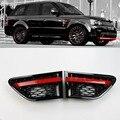 Автозапчасти для тюнинга вентиляционных отверстий, решетка для вентиляционных отверстий OEM, черная хромированная пара ABS для Land Rover Sport для ...
