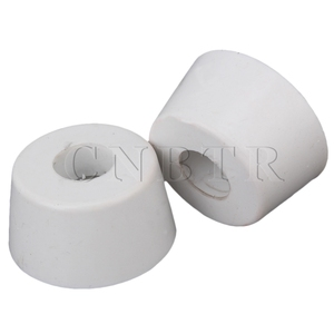 CNBTR 25x20x13 мм белый резиновый мебельный шкаф, встраиваемые ножки Pad, настольные бамперы, защитная упаковка 50