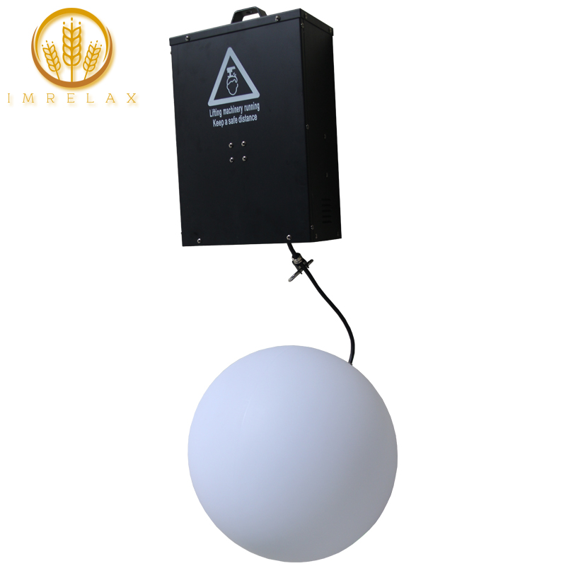 IMRELAX 3D Up Down 120W DMX RGB LED Lifting Ball Modern Wave Effect Colorful Kinetic Light