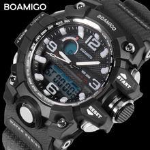 dc71316da315 BOAMIGO moda marca estudiantes relojes deportivos niño cuarzo Digital  natación reloj impermeable muchacho adolescentes reloj diario