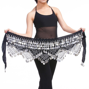 Image 5 - 11 renk kadife mısır oryantal dans paraları kemerler kadınlar için klasik oryantal dans kostümü aksesuarları cıngıllı şal Bellydance