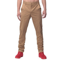 2017 Fashion Mens Pants Straight Cargo Pants Chinos Men Casual Slim Fit Autumn Spring Long Suit