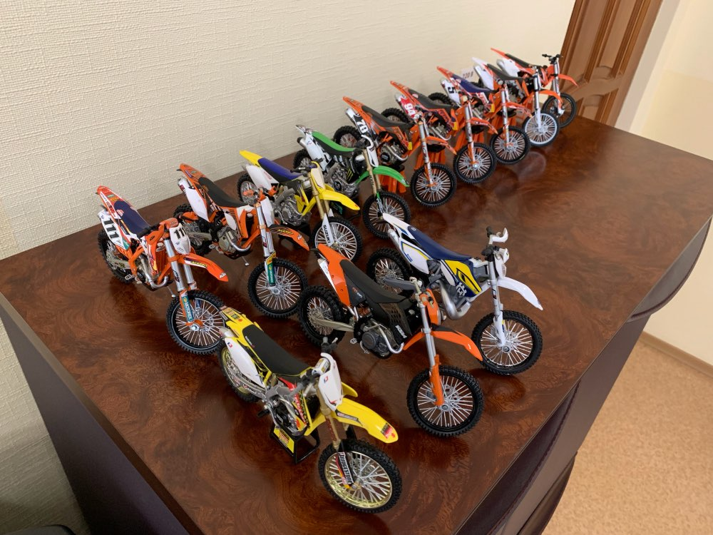 1:12 scale KTM 450 EXC 09 Motorcycle diecast model bike miniature superbike MX models enduro DIRT race Motocross children's toys