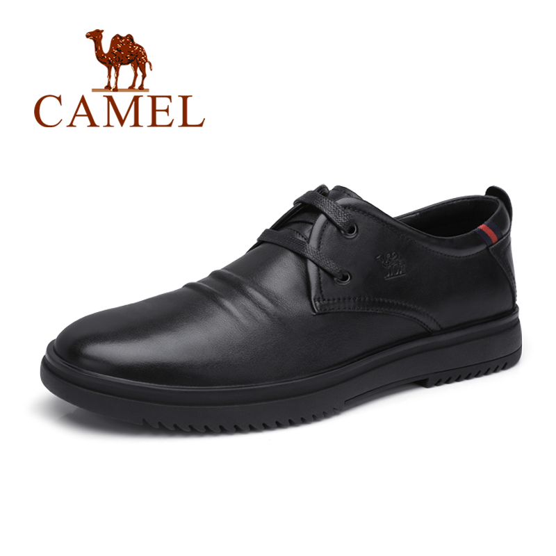 CAMEL New Men s Shoes Genuine Leather Autumn Business Casual Office Travel Natural Leather Shoes Man