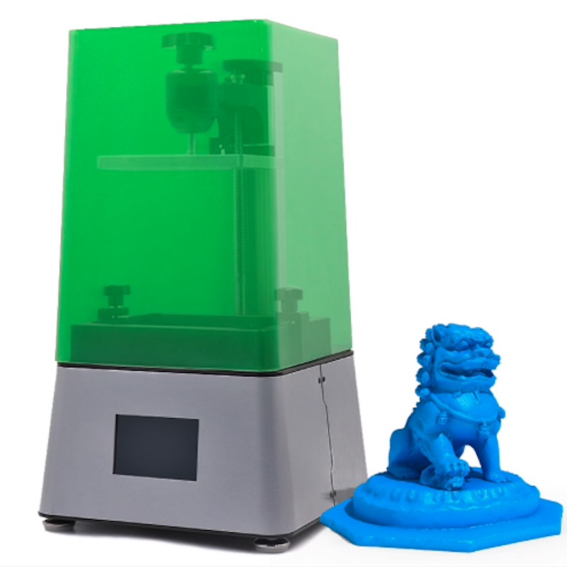 New 2019 3D printer DLP LCD ZOBU 3D ARTEL Free shipping LCD 2K with shadow mask
