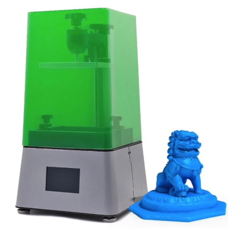 Nouveau 2019! Imprimante 3D DLP/LCD-ZOBU 3D ARTEL. Livraison gratuite! LCD 2 K avec masque d'ombre, résine d'impression 405nm (250 ml gratuit)