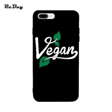 VEGAN phone cover for iPhone 6/6s/6s plus/6plus/7plus